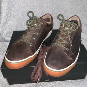 Mens Grizzly Brown UGG Brock Leather Shoe